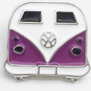 VW Ginger Snap button in Purple!